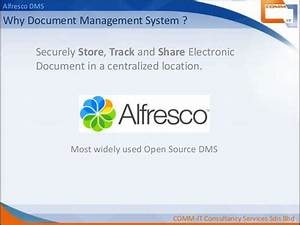 alfresco dms for comm it group With alfresco document management software