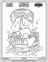 Coloring Dibujos Colorear Agua Dumbo Disney Dia Imagenes Plansa Como Brownie Chocolate Colorir Imprimir Colorat Library Clipart Desenhos Clip Imagen sketch template