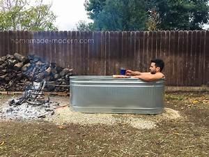 HomeMade Modern EP112 DIY Wood Fired Hot Tub