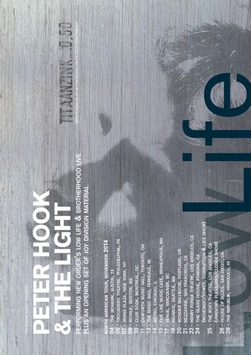 peter hook and the light tour peter hook the light begin their us tour stereo embers