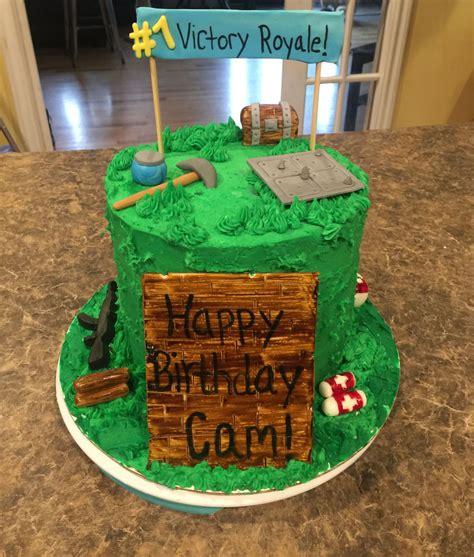 fortnite birthday cake fortnite cake children s treats in 2019 diy