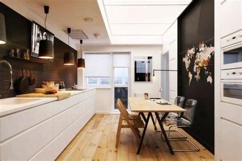 cuisines repeintes aménagement cuisine 52 idées pour obtenir un look moderne
