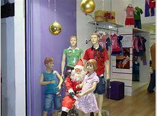 Decoração de Natal de Loja Infantil