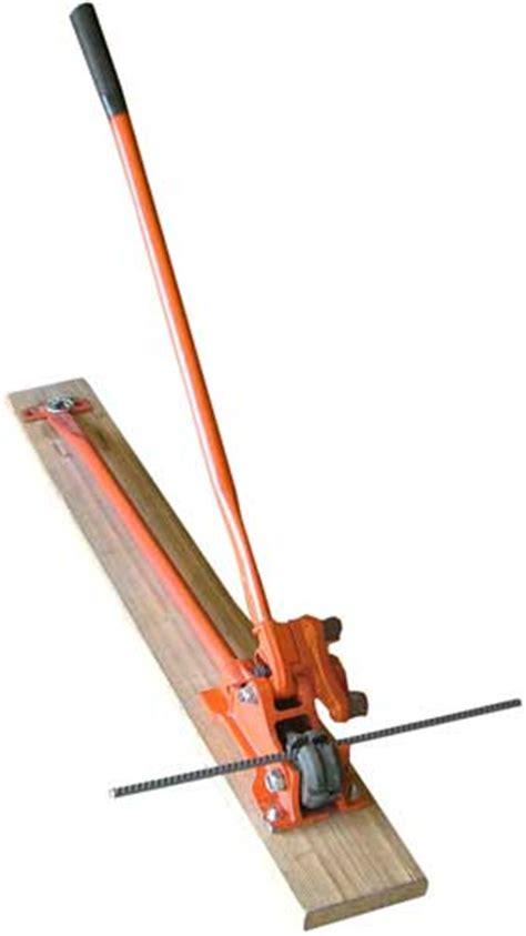 manual rebar bender  cutters