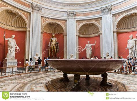une des salles du mus 233 e de vatican image stock 233 ditorial image 45231109