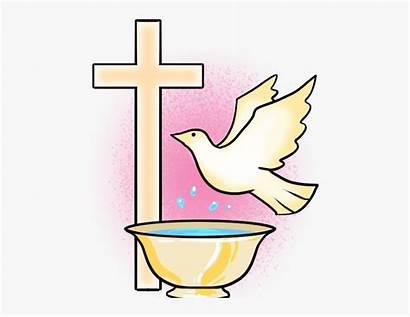 Baptism Clipart Catholic Sacrament Baptized Receive Anyone