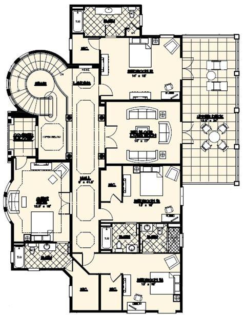 luxury custom home floor plans villa marina floor plan alpha builders