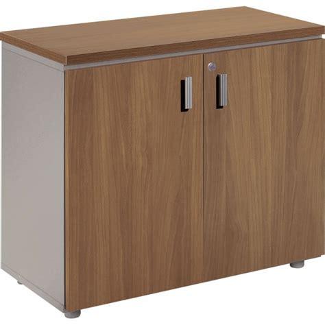 armoire basse de bureau armoire basse mélaminé h s