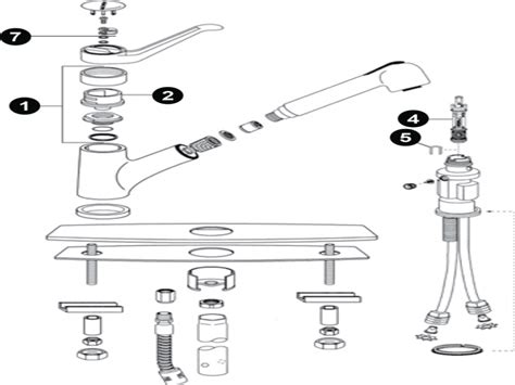 moen kitchen faucet repair kit single handle pull out kitchen faucet moen kitchen faucet