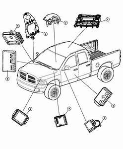 Dodge Ram 2500 Module  Transmission Control