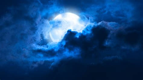 Moon And Clouds Wallpaper by Wallpaper Moon Hd 4k Nature 4773