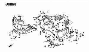 Honda Goldwing 1500 Parts Diagram