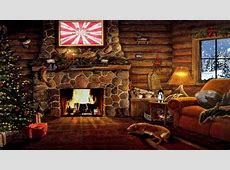 Christmas Cottage Scene Amazing Wallpapers