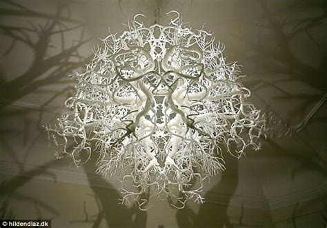 amazing chandelier inspired by nature turns a room in to a