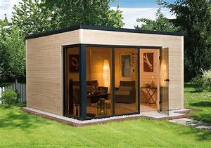 Gartenhaus Mit Glasfront : abri de jardin et ambiance cosy ~ Markanthonyermac.com Haus und Dekorationen