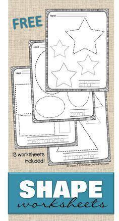 printable shapes images shapes preschool