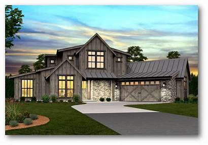 Farmhouse Modern Plans Plan Barn Story Garage