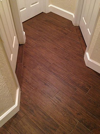 Tile Installer In Florida by Wood Look Plank Tile Installation Ta Florida