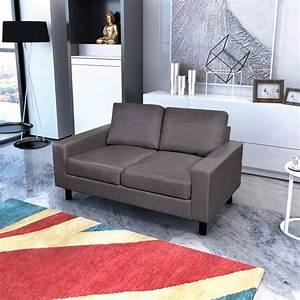 2 Sitzer Sofa Günstig : der sofa 2 sitzer dunkelgrau online shop ~ Frokenaadalensverden.com Haus und Dekorationen