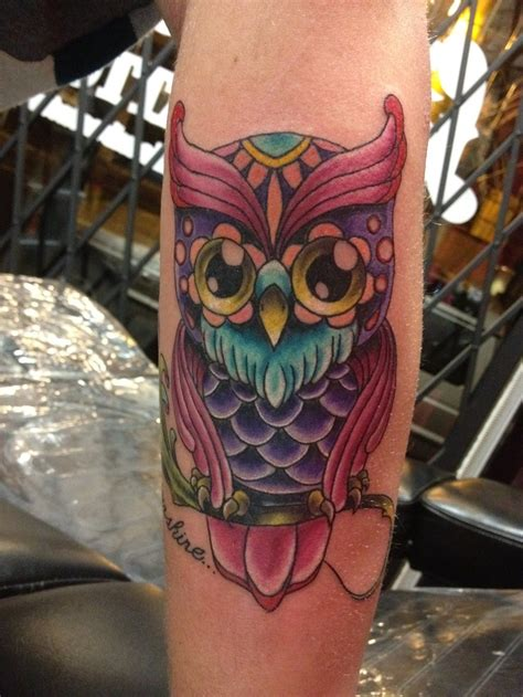 owl tattoo inlove tattoos inked cute owl