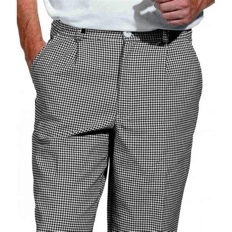 pantalon de cuisine noir pantalon de cuisine boulangerie pied de poule noir blanc