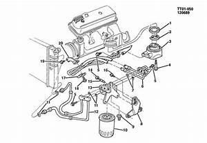 1993 Gmc Typhoon Hose  Engine Oil Cooler  Hose  Eng Oil