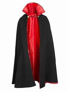 Dracula Reversible Cape black & red