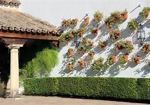 Vertical, Gardens, The, Courtyards, Houses, Of, Cordoba, In, Spain, U22c6, Archeyes