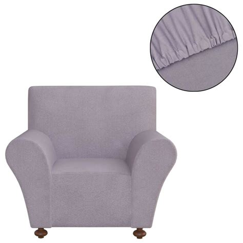 housse de canapé gris acheter vidaxl housse de canapé en polyester jersey