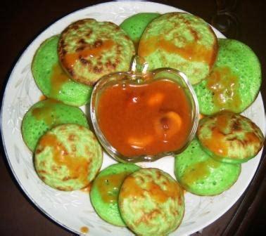 Rasa kue serabi manis dan enak khas aneka berikut resep dan cara membuat kue serabi pandan disertai petunjuk lengkap cara mudah membuatnya. Resep Serabi Kuah Nangka Lezat   Resep Masakan Keluarga