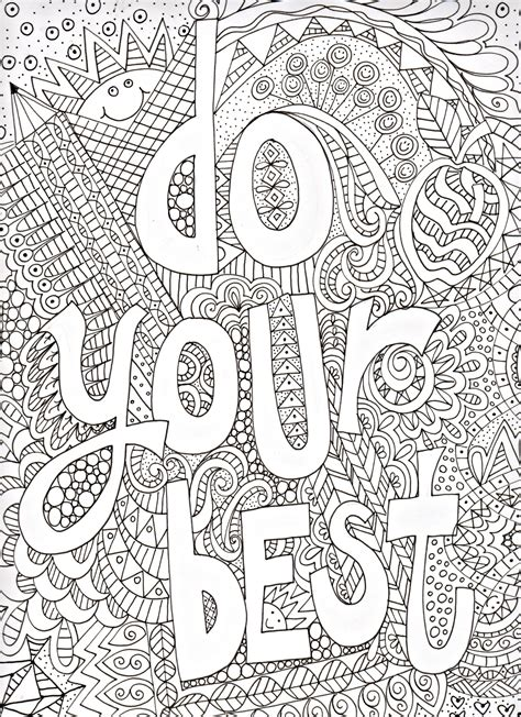 Best Inspirational Quotes Coloring Pages Ideas And Images On Bing
