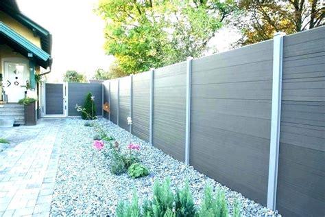 Sichtschutz Garten Steinoptik by Sichtschutzzaun Kunststoff Steinoptik Sichtschutz Beste