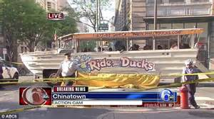 Old Boat In Philadelphia by Philadelphia Duck Boat Runs Over Kills Woman Police Say