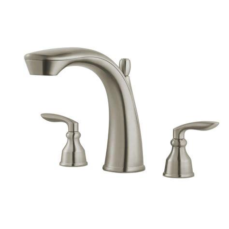 Pfister Tub Faucet by Pfister Avalon 2 Handle Deck Mount Tub Faucet Trim