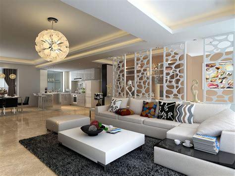 White Living Room Furniture Decorating Ideas Modern
