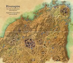 Rivenspire Map - The Elder Scrolls Online game-maps com