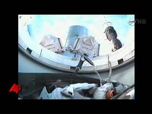 Raw Video: Shuttle Astronauts on Final Spacewalk - YouTube