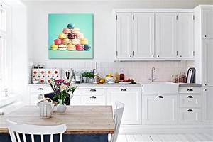 decoration murale design avec un tableau sur toile toile With decoration murale pour cuisine