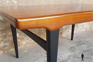 Table Scandinave But : table de repas vintage rallonges scandinave en teck ~ Teatrodelosmanantiales.com Idées de Décoration