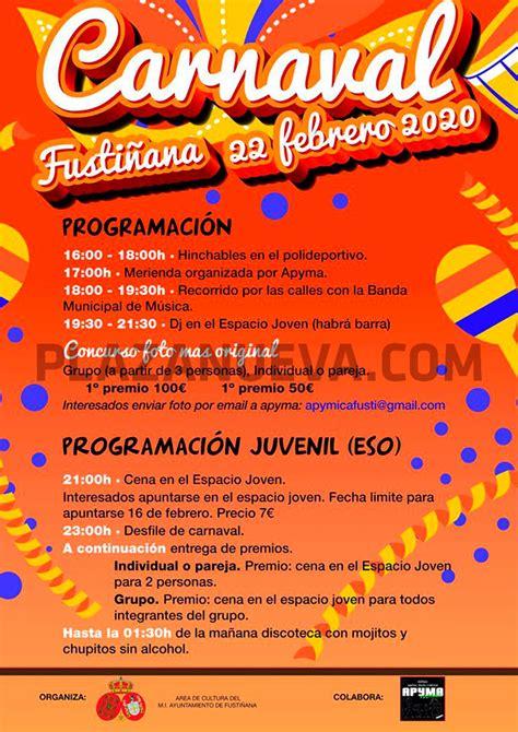 carnaval  en fustinana agenda plaza nueva semanario independiente de actualidad comarcal
