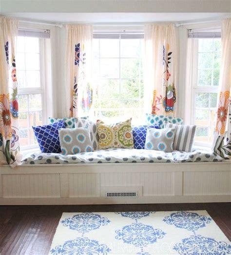 window seat curtains design dilemma or length curtains