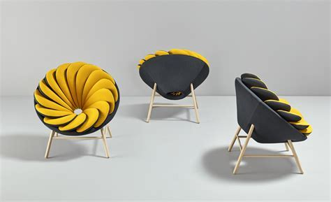 Quetzal Armchair is Like a Flower With Reversible Petals