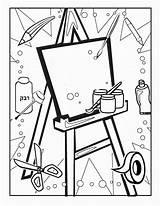 Coloring Craft Printable Birthday Coloring2print sketch template
