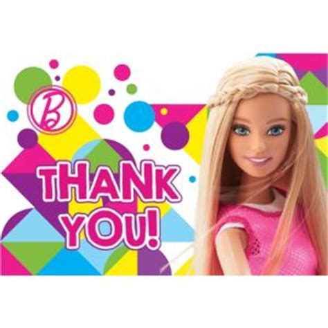 barbie   notes ct party city