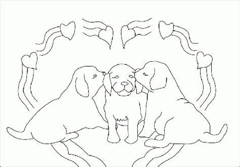 immagini bambini dolcissimi immagine da colorare cani in un cuore immaginidacolorare it