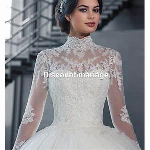 robe de mariee manche dentelle et traine discount mariage With robe de mariée dentelle avec parure bijoux soirée