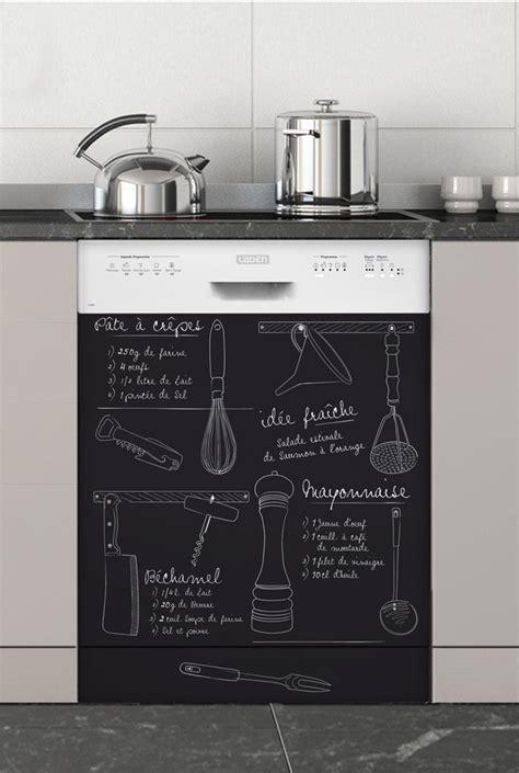 relooker meuble de cuisine marmiton sticker lave vaisselle