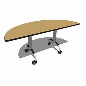 Bretford here shaped tables 3d model formfonts 3d models for Bretford furniture