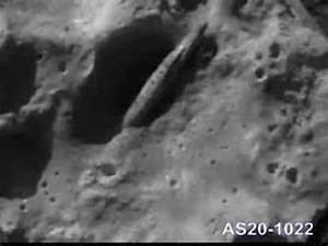 Crashed Spacecraft On Moon - Pics about space