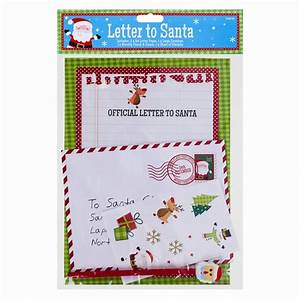 letter to santa kit stationary pencil eraser envelope With letter to santa kit